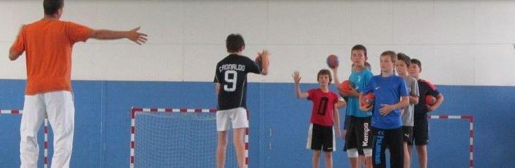 Stage de Handball avec Evasion 2000